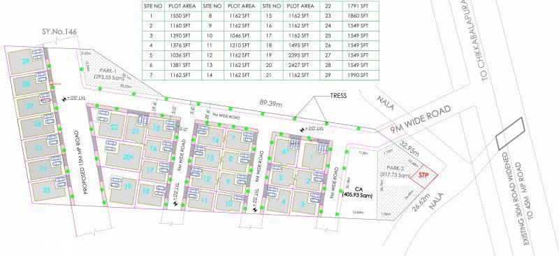 Images for Layout Plan of Aashish Ashish Villa