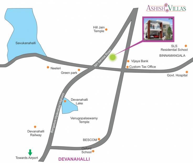 Images for Location Plan of Aashish Ashish Villa