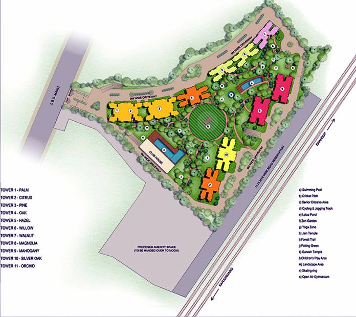Images for Master Plan of Runwal Forests