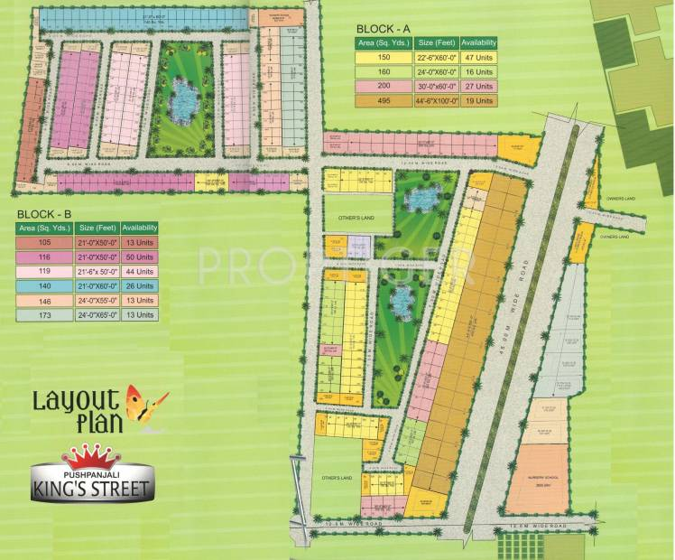 Images for Layout Plan of Pushpanjali Kings Street