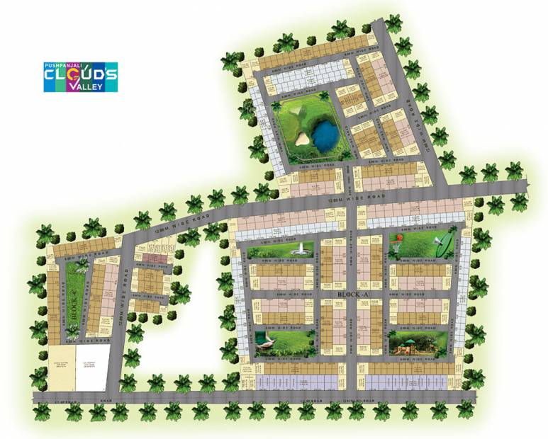 Images for Layout Plan of Pushpanjali Clouds Valley