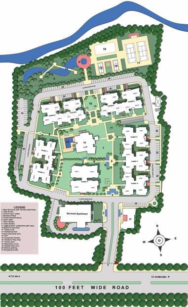 assotech the-cosmopolis Site Plan