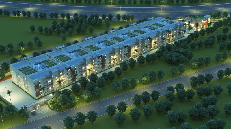 Images for Elevation of Dhruthi Tranquil Towers