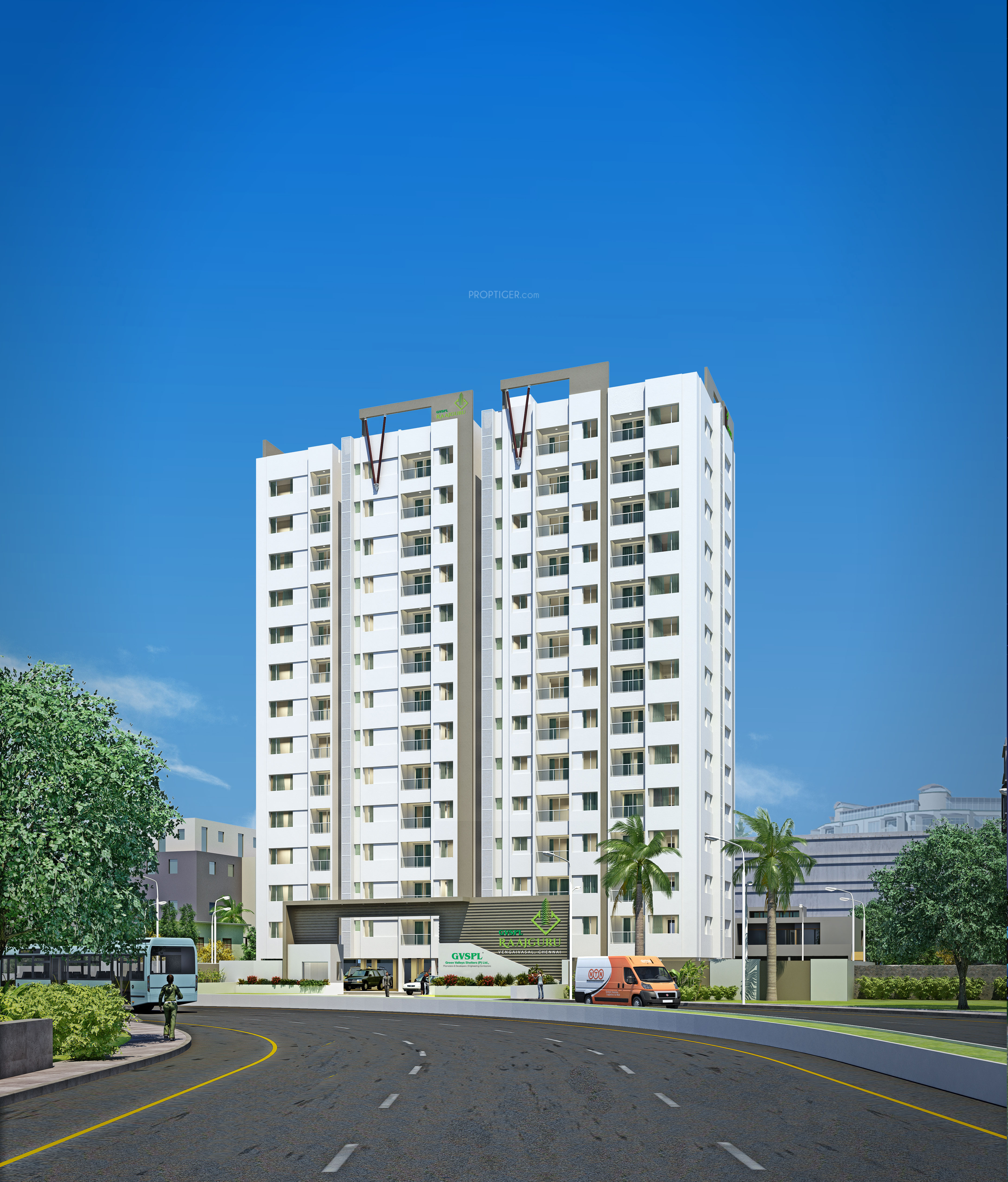 Ags Logistics Pvt Ltd 1284 sq ft 3 bhk 3t apartment for sale in green valleys