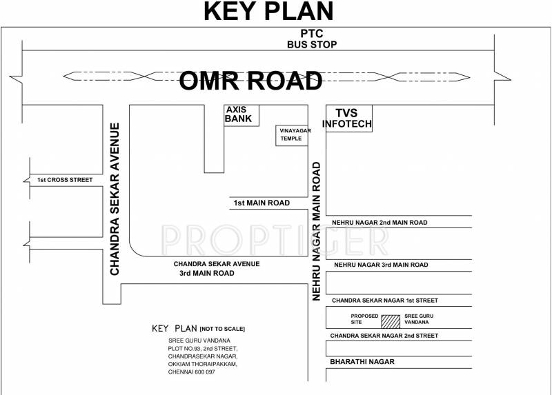Images for Location Plan of Sree Guru Vandana