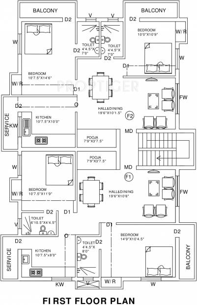 Images for Cluster Plan of Sree Guru Aishwarya