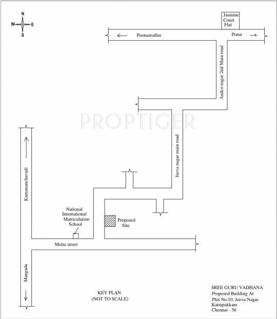 Images for Location Plan of Sree Guru Vadhana
