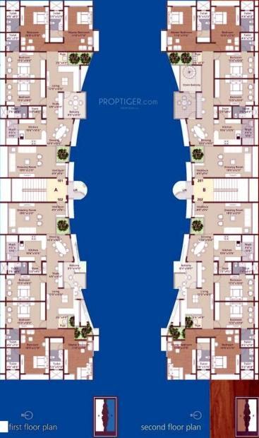Images for Cluster Plan of Maruti Celesta Courtyard