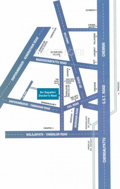 Images for Location Plan of Altis Sri Gayathri Doctors Nest