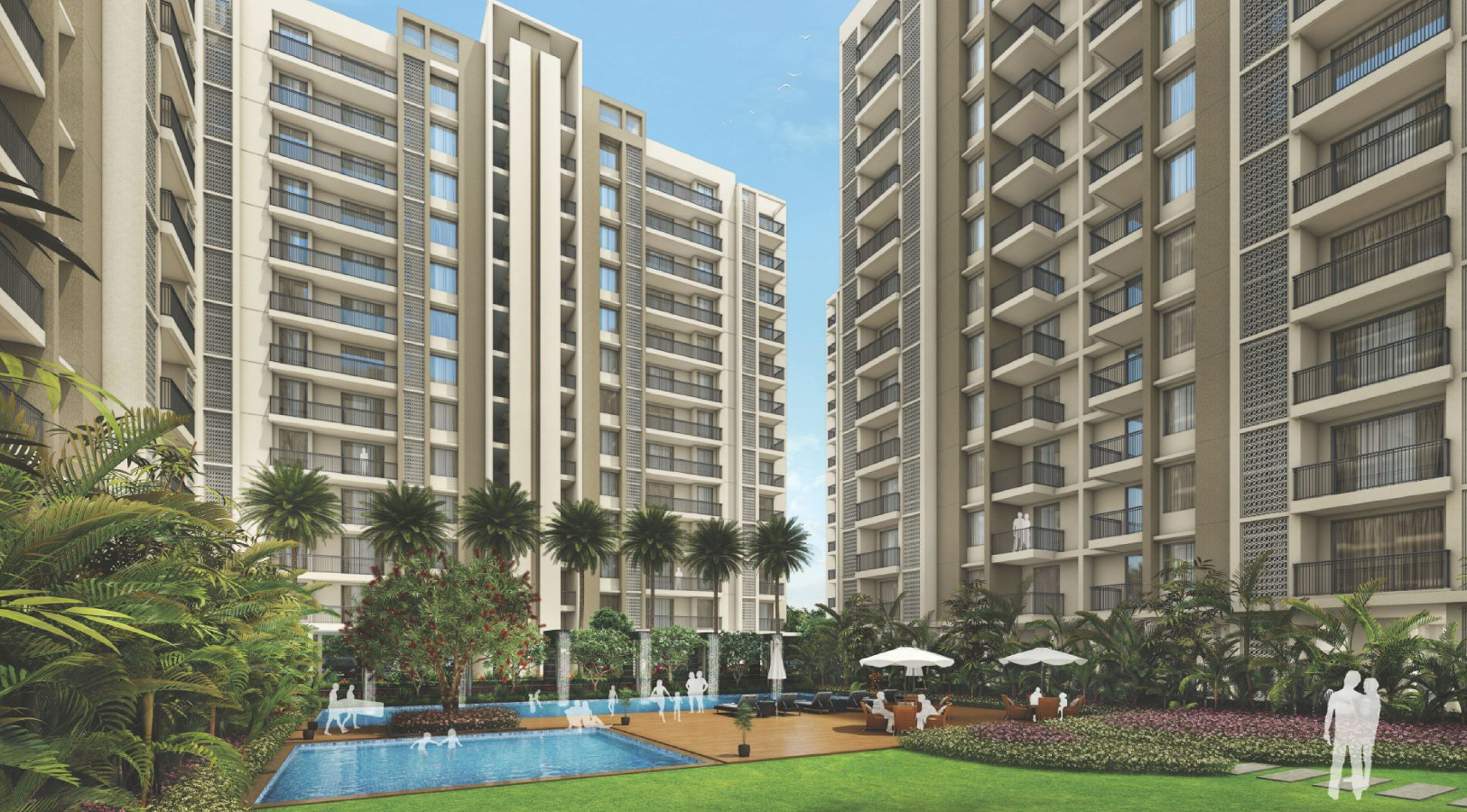 1248 sq ft 3 BHK 3T Apartment for Sale in Ashadeep Group