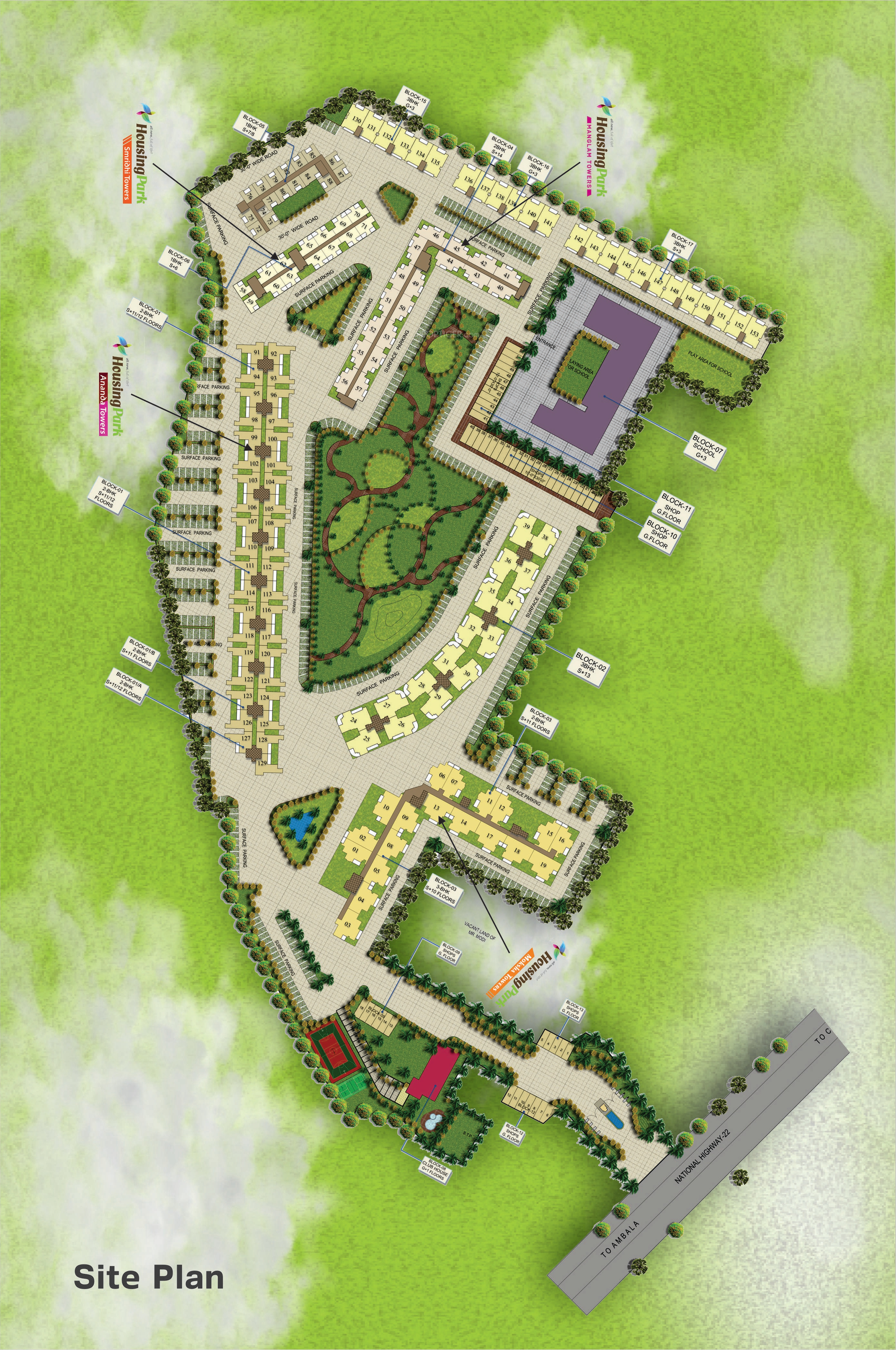 Marvellous Housing Layout Plan Ideas - Best Image Engine - afyongmh.com