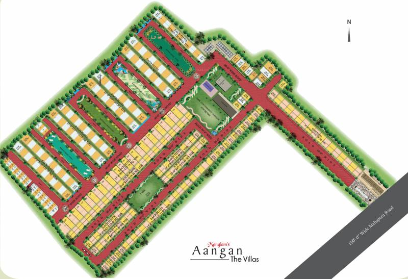 Images for Layout Plan of Manglam Aangan The Villas