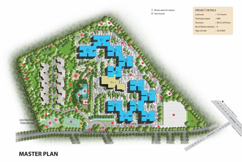 Images for Master Plan of Sobha Silicon Oasis