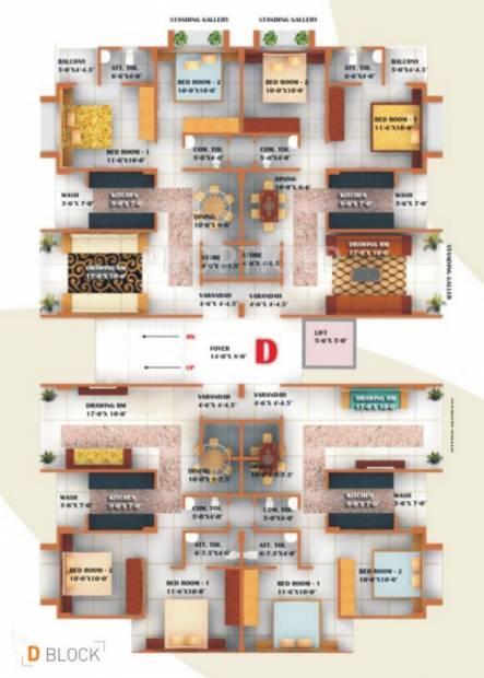 Images for Cluster Plan of Unique Essenza