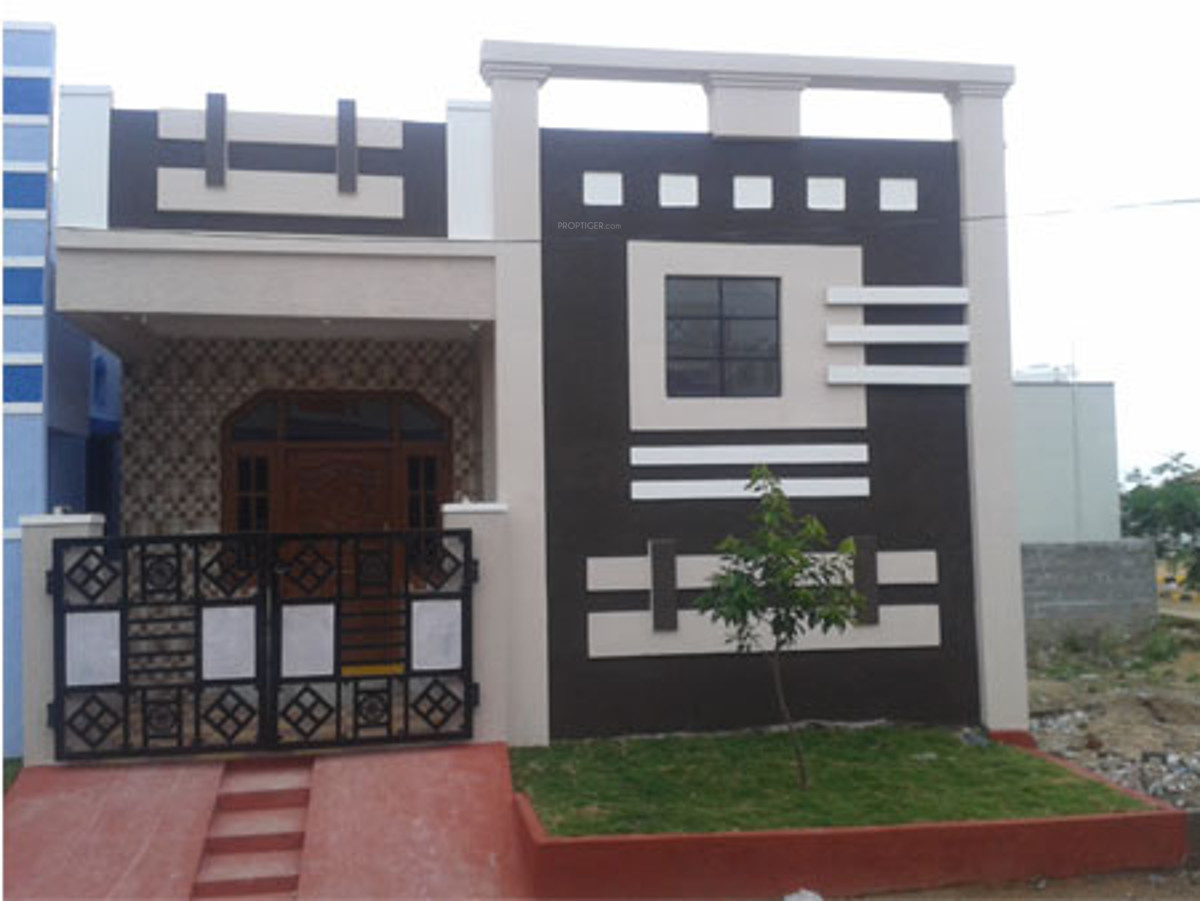 850 sq ft 2 bhk 2t villa for sale in vrr constructions for Independent house designs in india