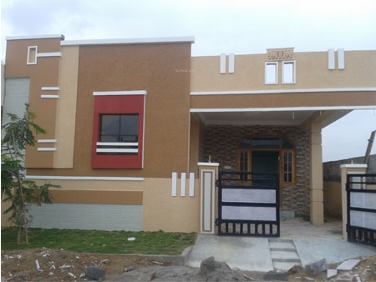 Front Elevation Designs Independent Houses : Sq ft bhk t villa for sale in vrr constructions