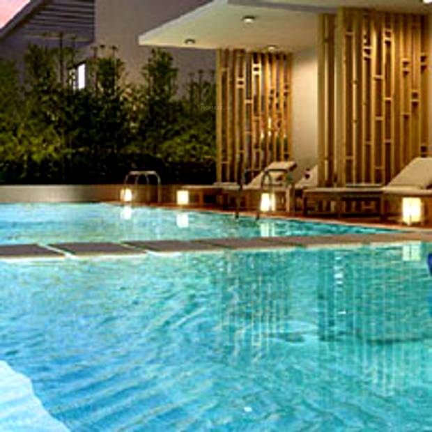 Image of swimming pool of vtp realty urban rise undri pune for Houston swimming pool high rise
