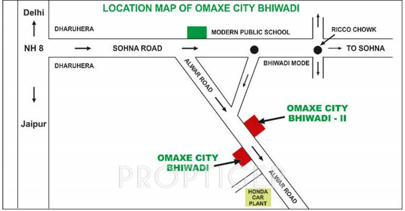 Images for Location Plan of Omaxe Europia