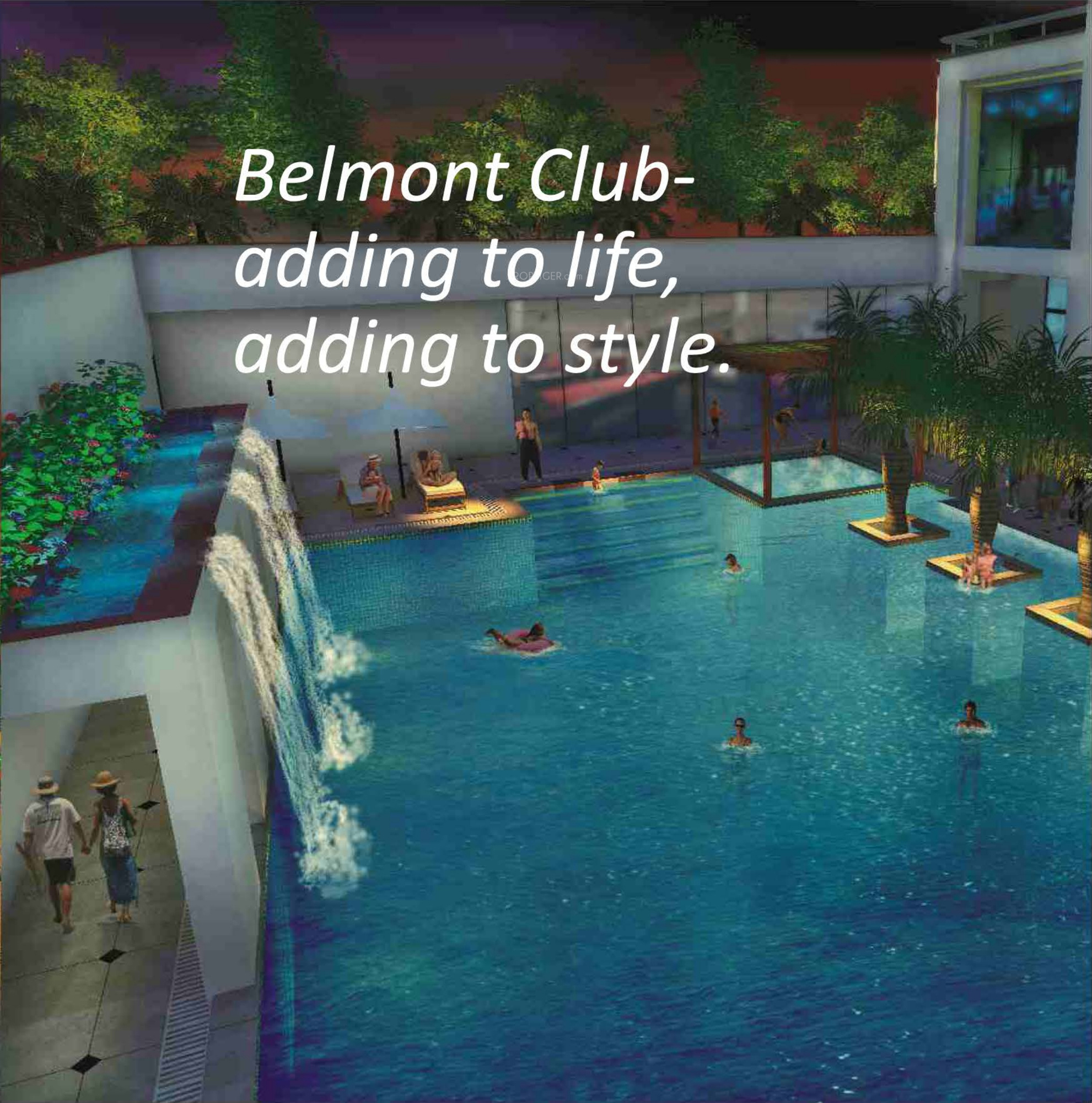 Belmont Park Apartments: 2869 Sq Ft 4 BHK 4T Apartment For Sale In IBD Belmont Park