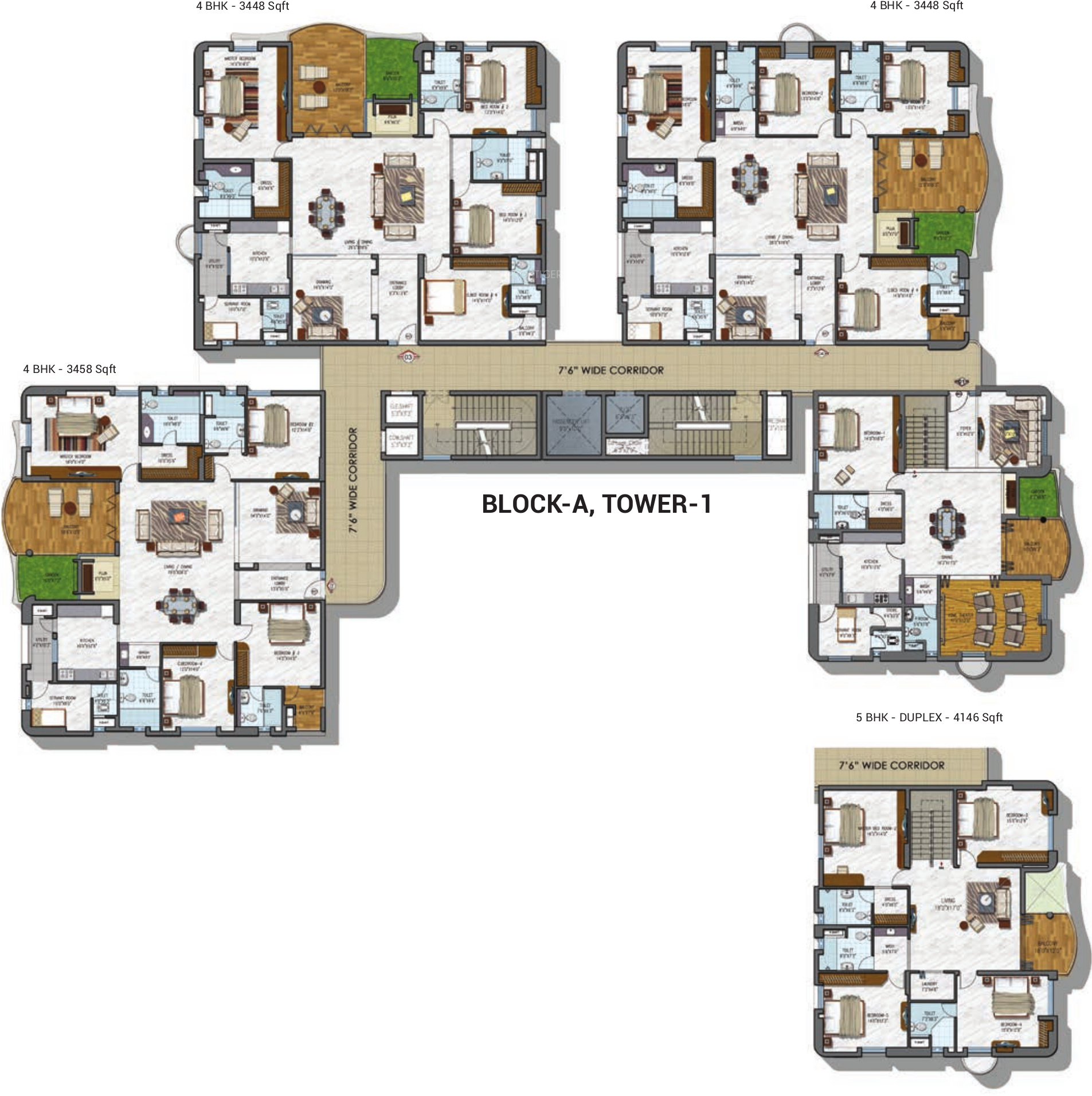 Ncc gardenia in gachibowli hyderabad price location - Exterior paint calculator by square foot ...