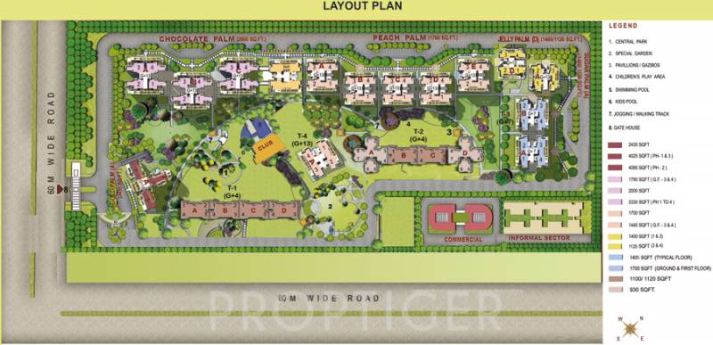 Images for Layout Plan of Omaxe Palm Greens