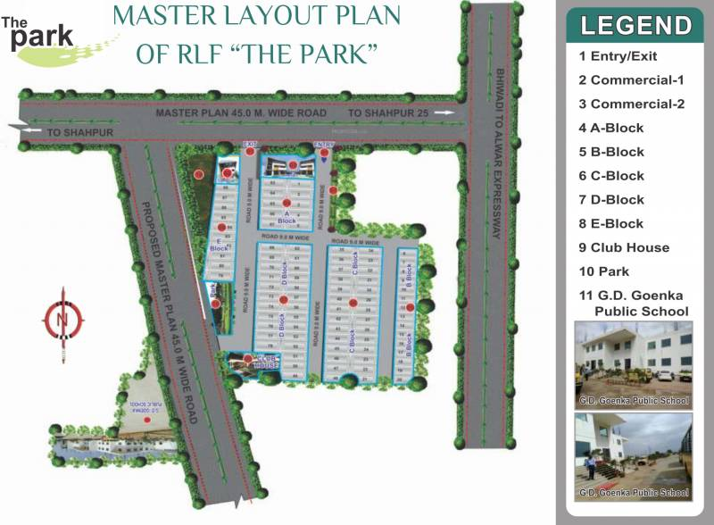Images for Master Plan of RLF The Park