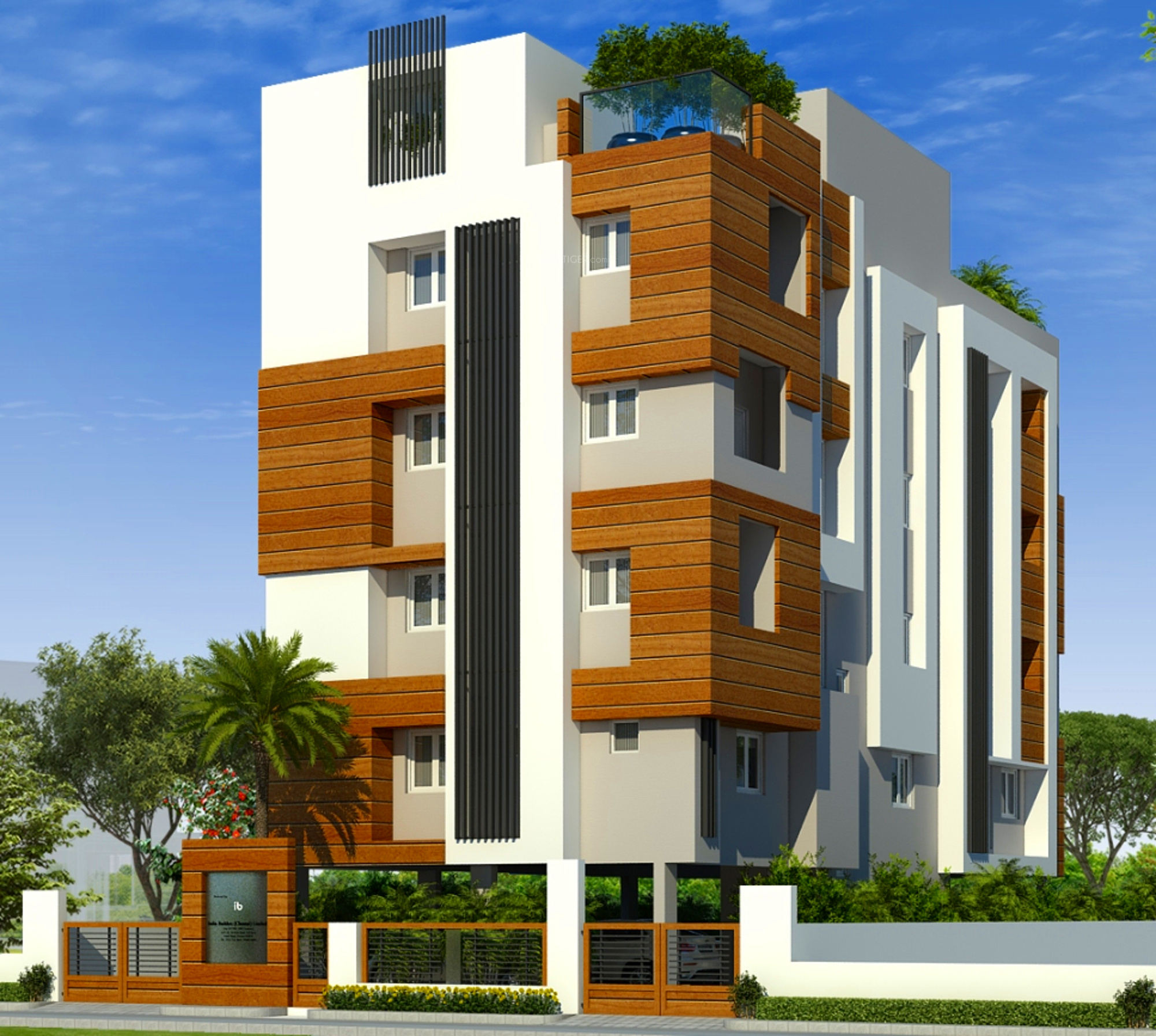 1071 sq ft 2 bhk 2t apartment for sale in india builders for Indian apartment plans with elevation