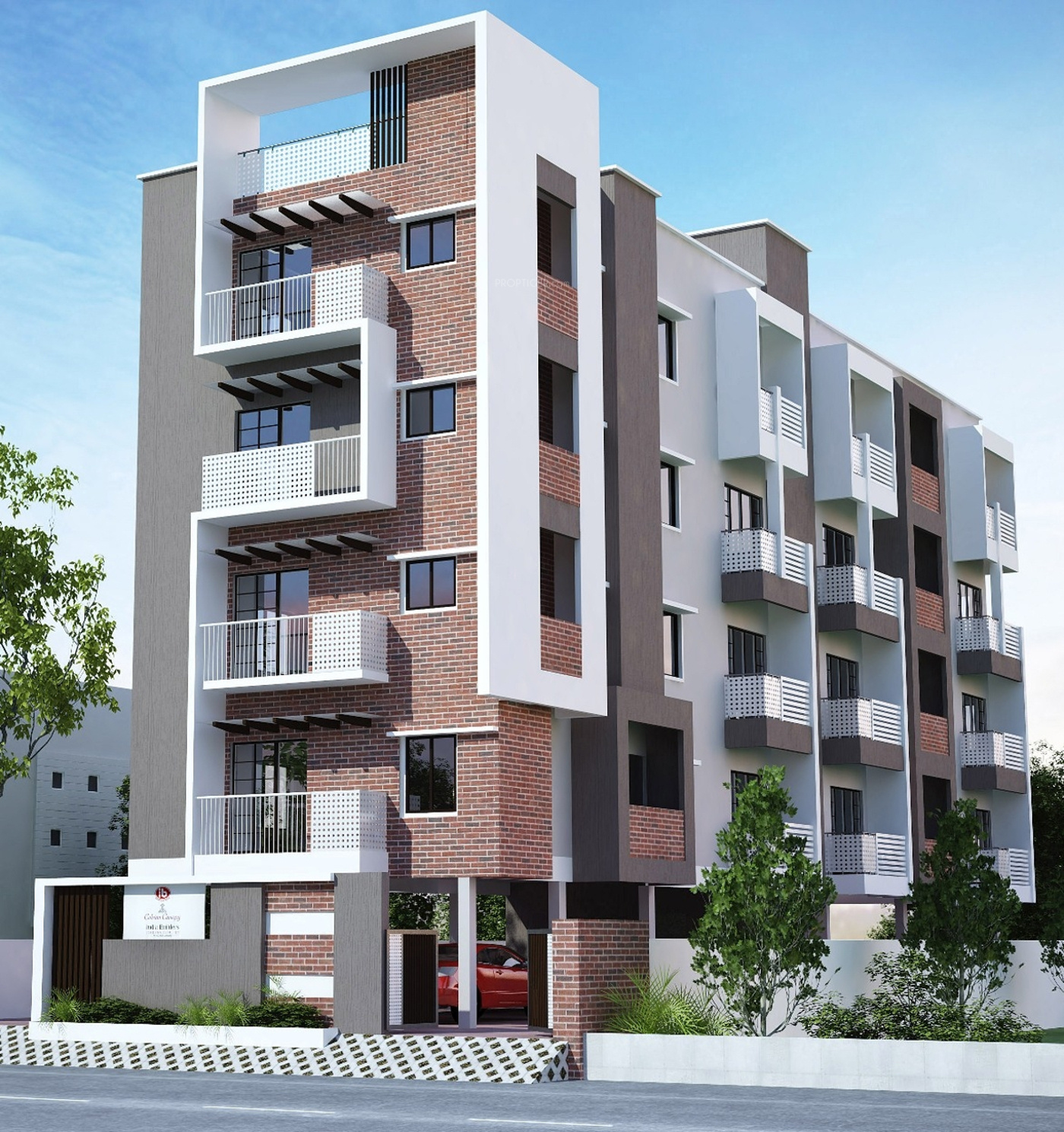 2 Or 3 Bhk Flat Interior Designing Cost In Kolkata: 1370 Sq Ft 3 BHK 3T Apartment For Sale In India Builders
