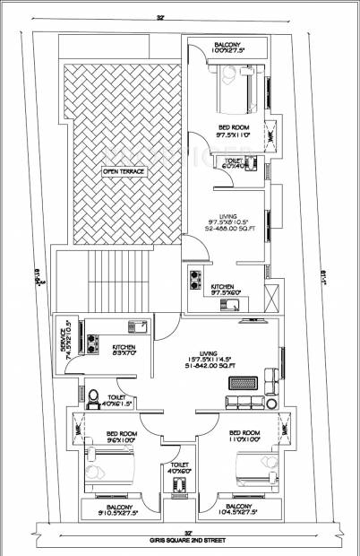 Images for Cluster Plan of CC Sweet Homes
