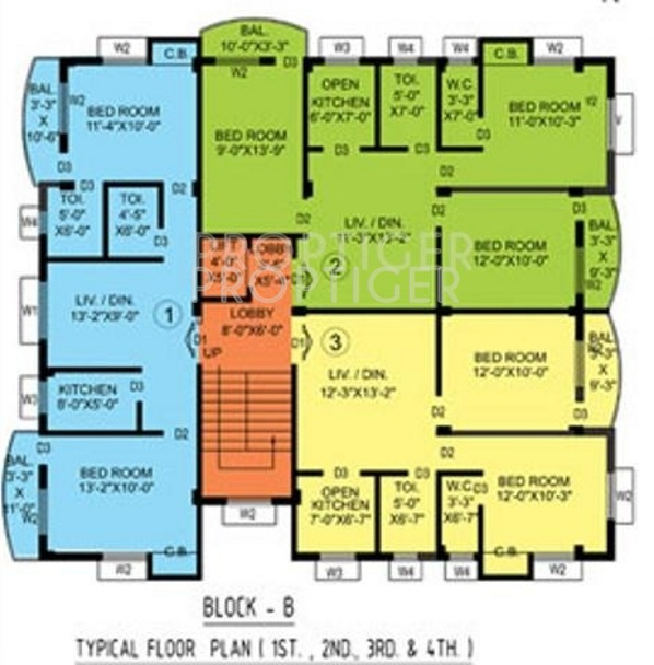 Images for Cluster Plan of Sarada Satyam