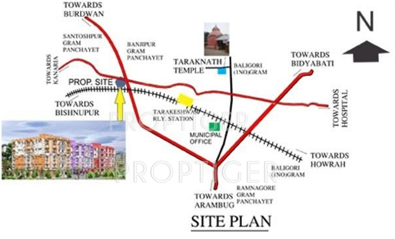 Images for Location Plan of Sarada Satyam