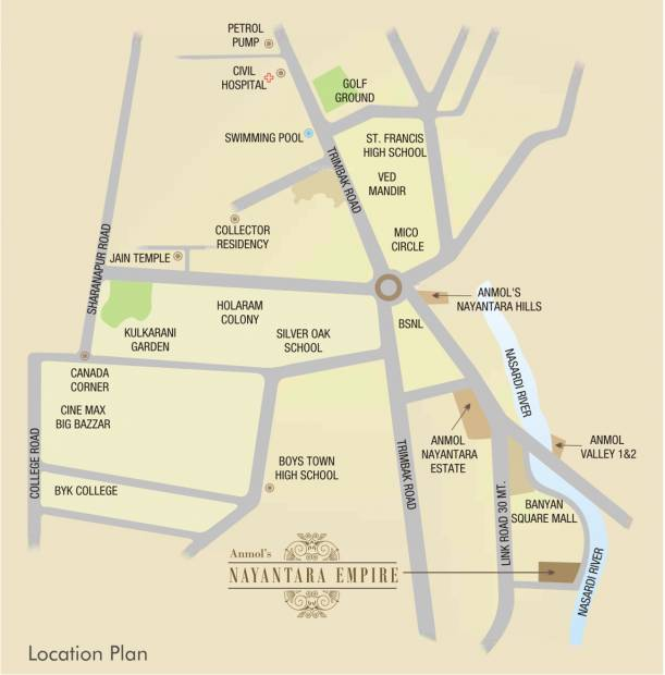Images for Location Plan of Anmol Empire