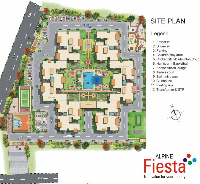 Images for Site Plan of Alpine Fiesta