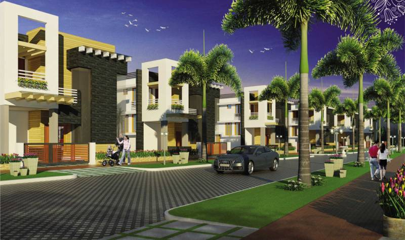 Images for Elevation of Shwas Palm Bay Villas