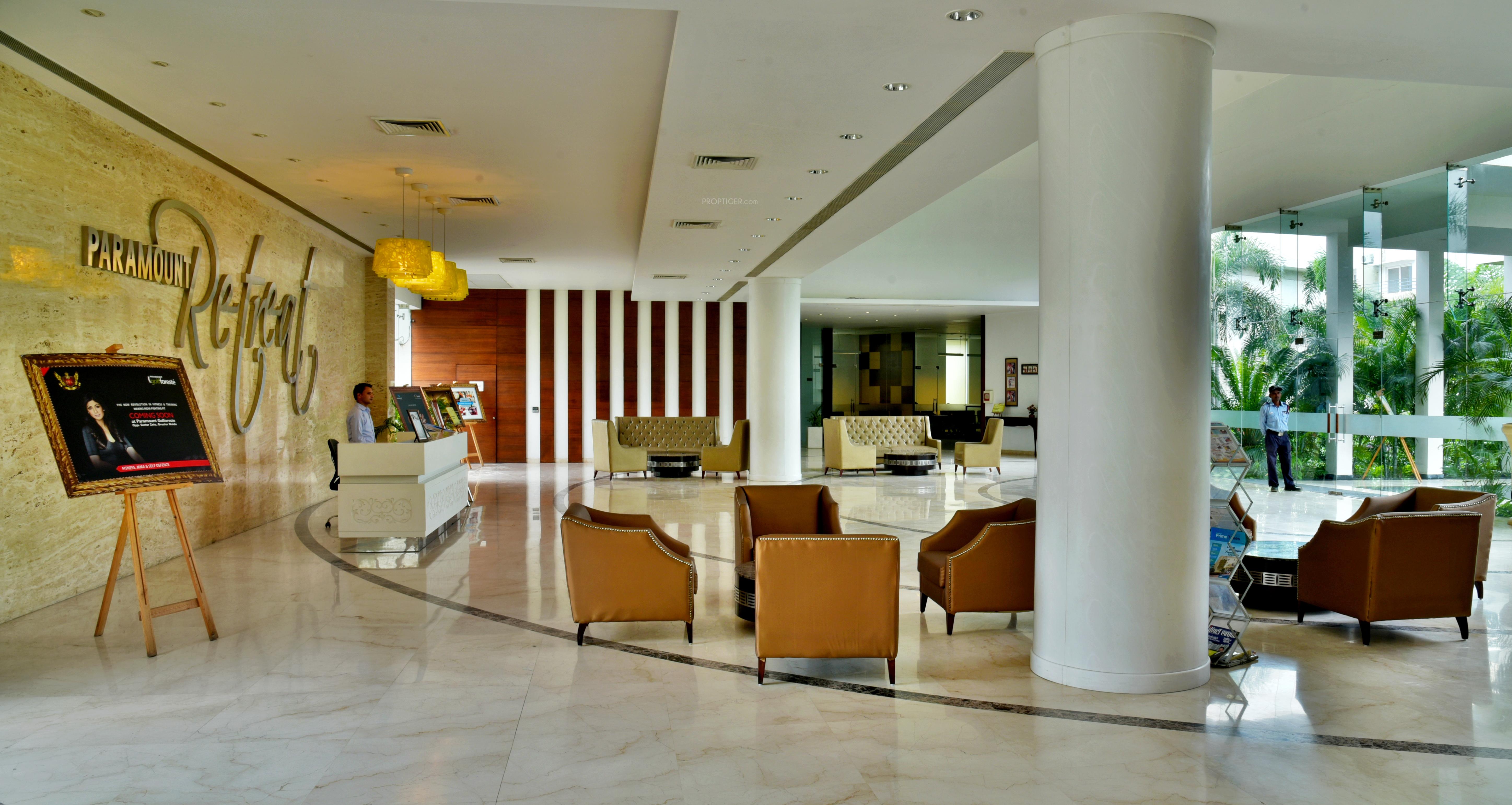 Paramount Golfforeste Villas In Zeta Greater Noida