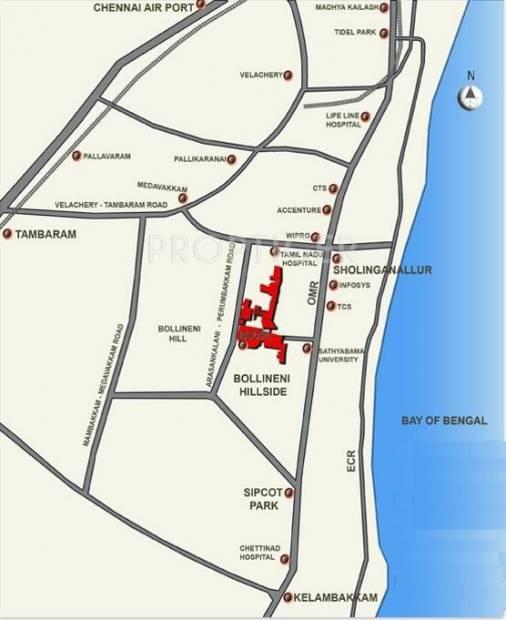 Images for Location Plan of BSCPL Bollineni Hillside Villas