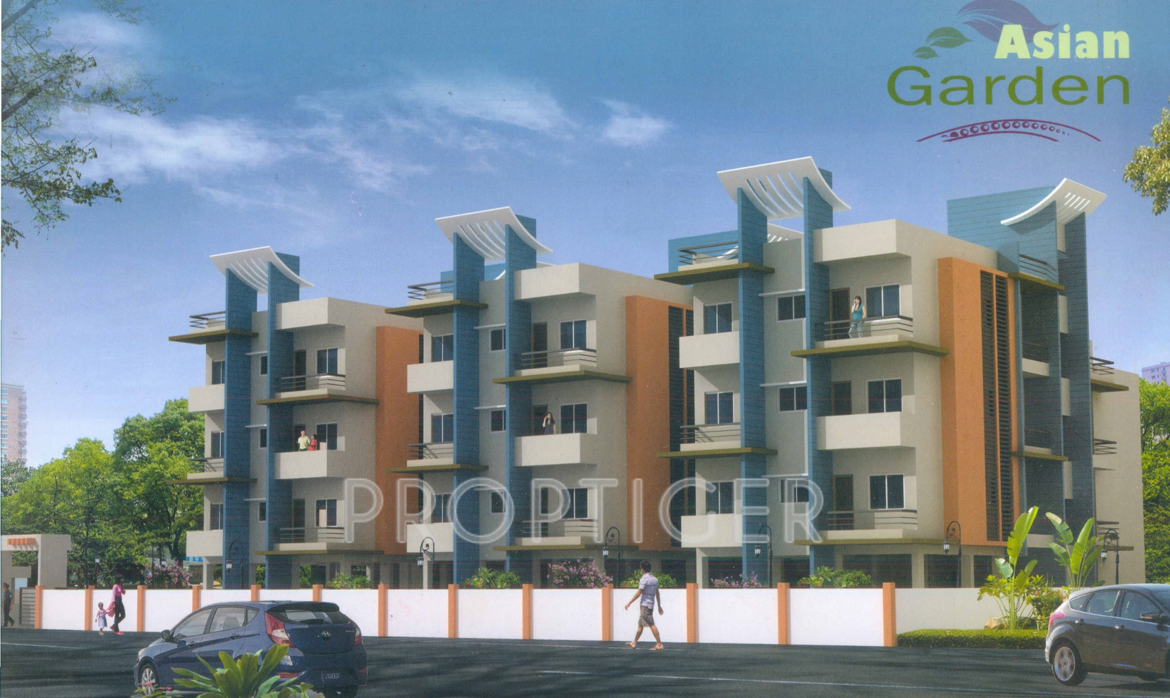 480 Sq Ft 1 Bhk 1t Apartment For Sale In Asian Developer