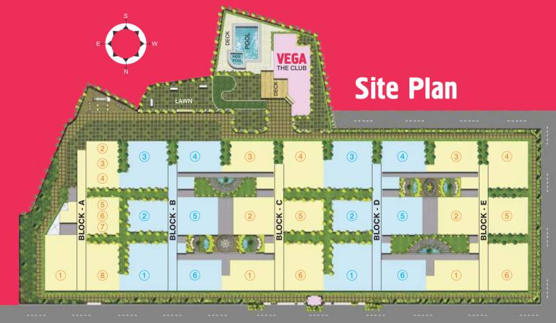 Images for Site Plan of Muppa Homes Aishwarya Condos