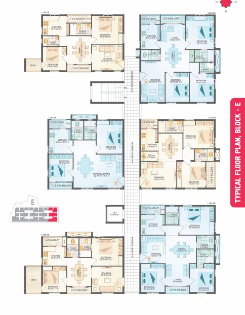 Images for Cluster Plan of Muppa Homes Aishwarya Condos