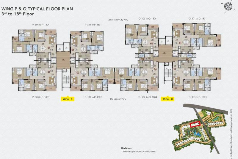 Images for Cluster Plan of Purva Palm Beach