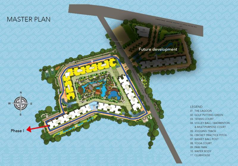Images for Master Plan of Purva Palm Beach