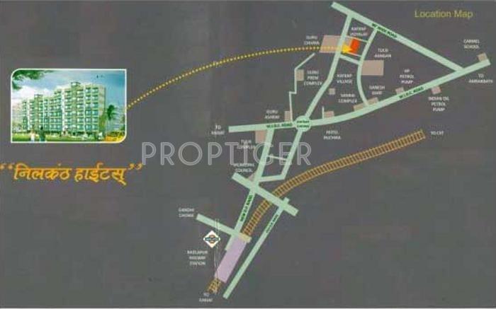 Neelkanth Group Neelkanth Heights Location Plan