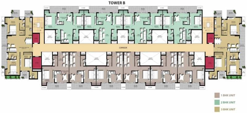 Images for Cluster Plan of Jaydev Uni Park