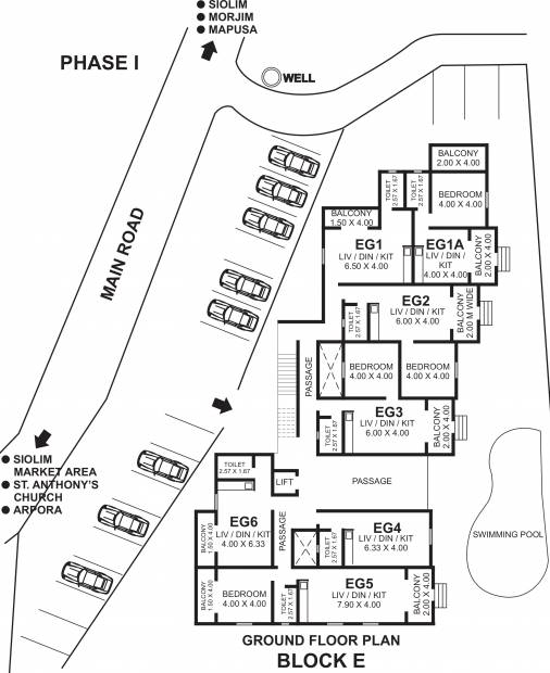 Images for Cluster Plan of Riviera Sapphire Apartment