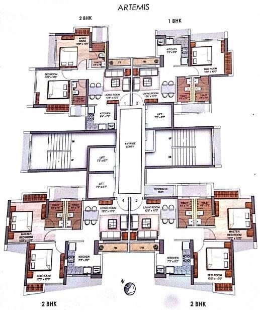 eirene Images for Cluster Plan of Runwal Eirene