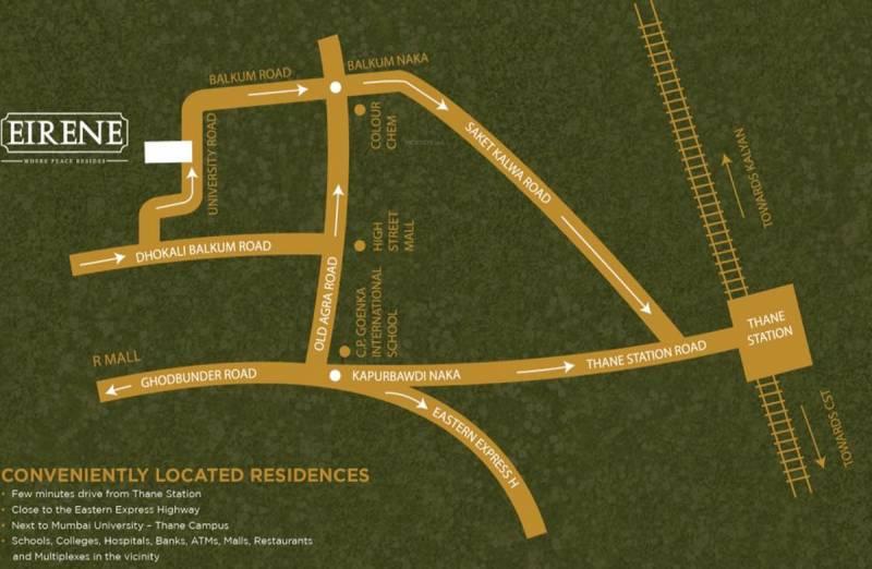 eirene Images for Location Plan of Runwal Realty Eirene