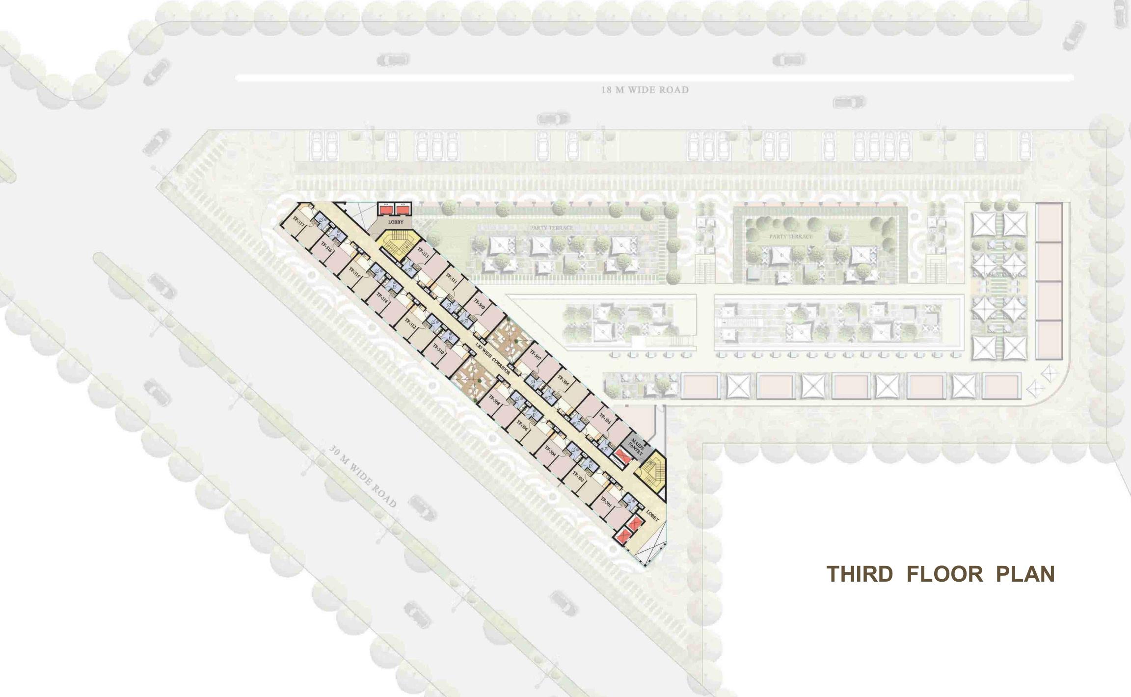 Global Foyer Floor Plan : Global foyer in sector gurgaon price location