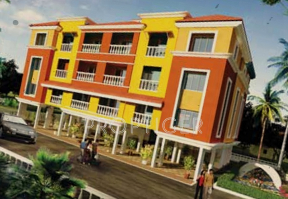 Remus Postcard Portico Apartments in Penha de Franca, Goa - Price ...