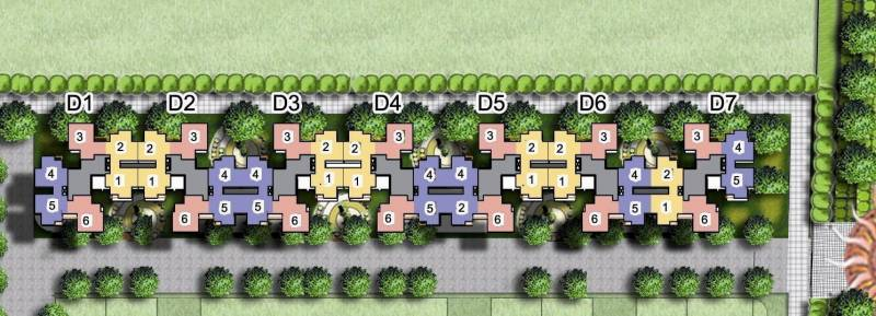 riverview Images for Layout Plan of Amrapali Riverview
