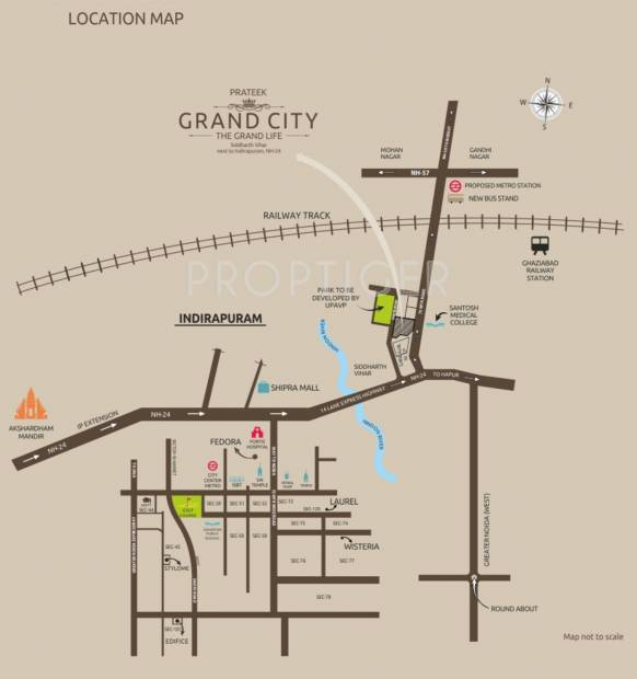 Images for Location Plan of Prateek Grand City